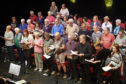 Members of the Just Sing group from Eden Court who are set to head stateside in March.