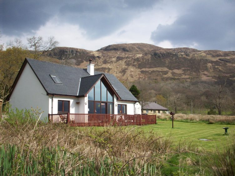 Knoydart: This B&B is ideally situated to explore the island , and take in panoramic sea and mountain views
