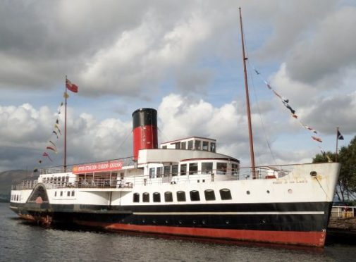 Work is beginning on a £1m refurbishment of Maid of the Loch.