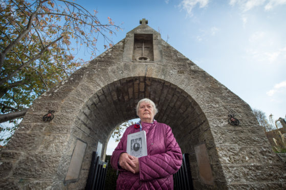 Local Historian and author, Jill Stewart from Dyke in Forres.
