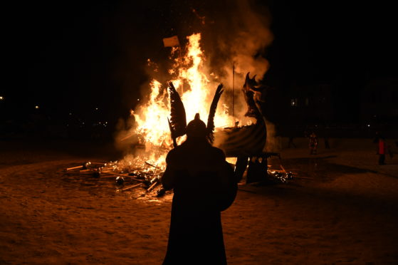Up Helly Aa 2019.