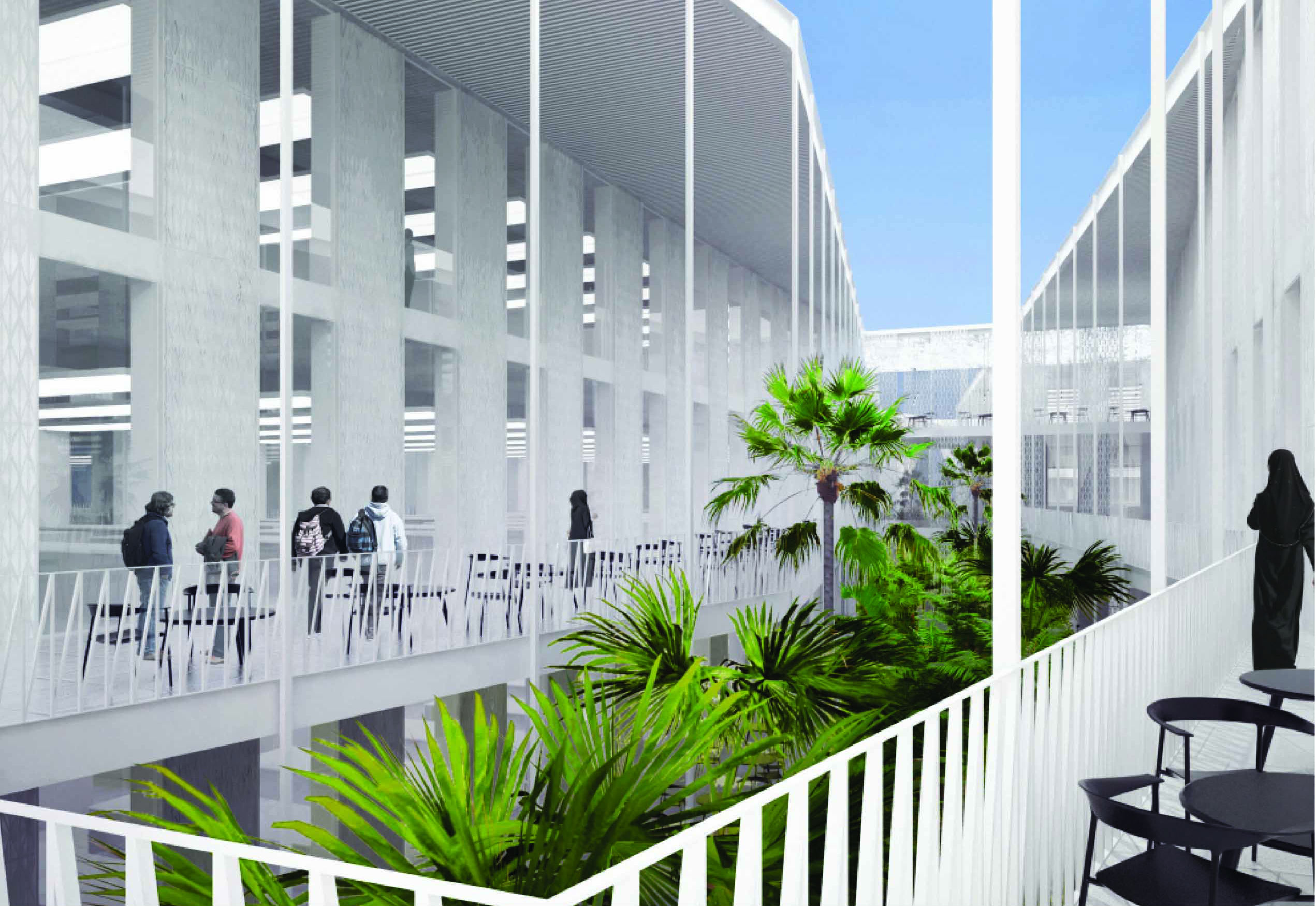 Artist impression of how the new building will look.