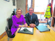 Aberdeenshire MSP Gillian Martin meeting Michael Matheson to discuss the Toll of Birness