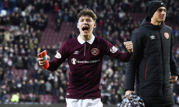 McDonald will miss out on the semi-final with parent club Hearts.