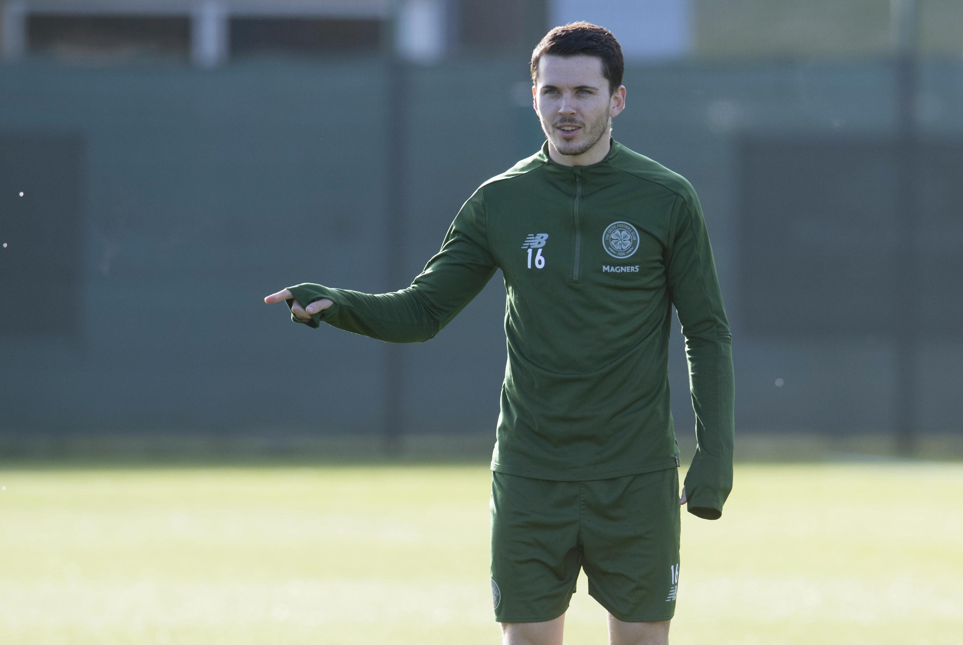 Celtic winger Lewis Morgan
