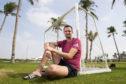 Aberdeen goalkeeper Joe Lewis in Dubai.