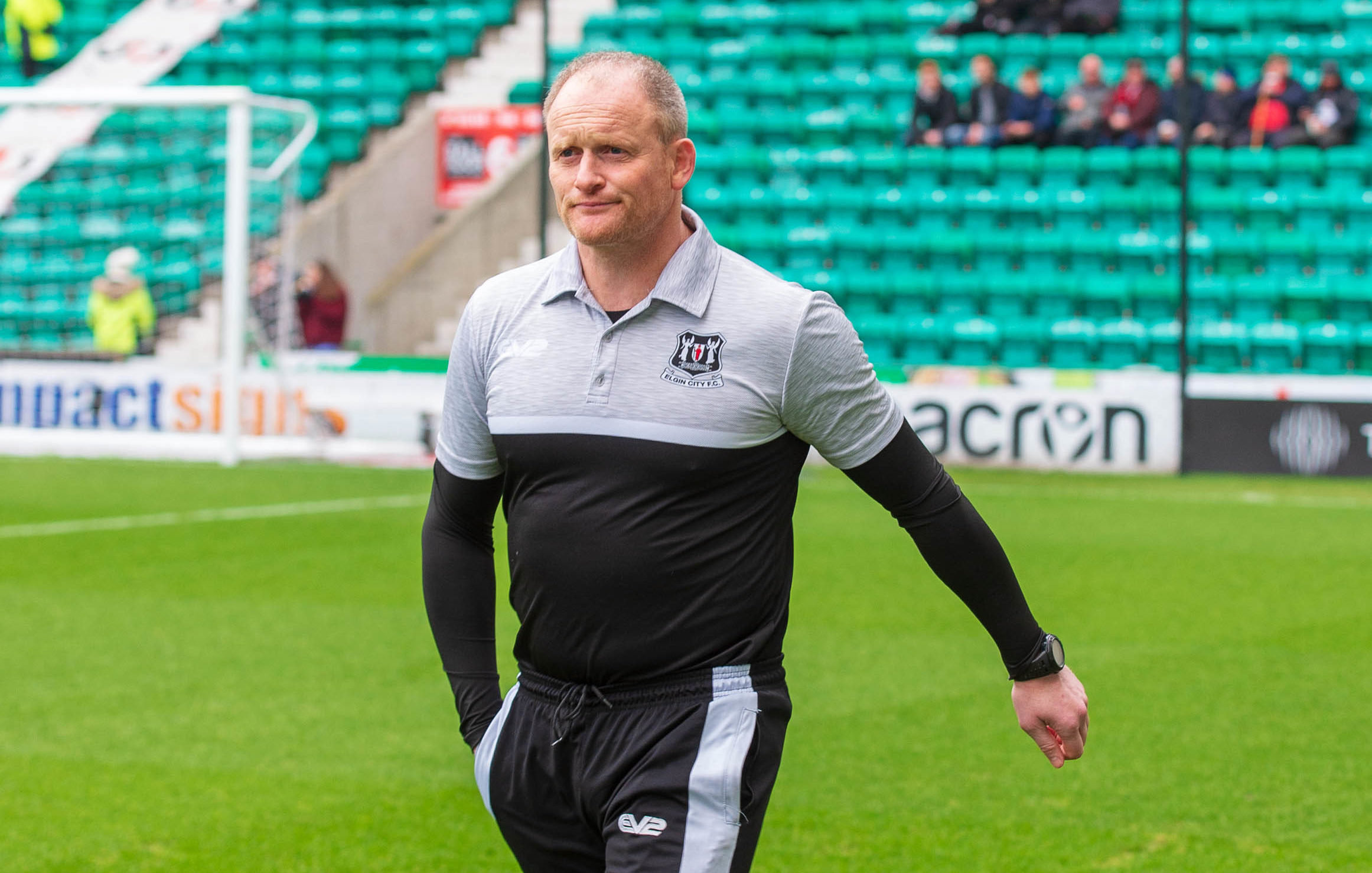 Elgin City boss Gavin Price.
