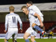 Aberdeen's Sam Cosgrove celebrates his opener