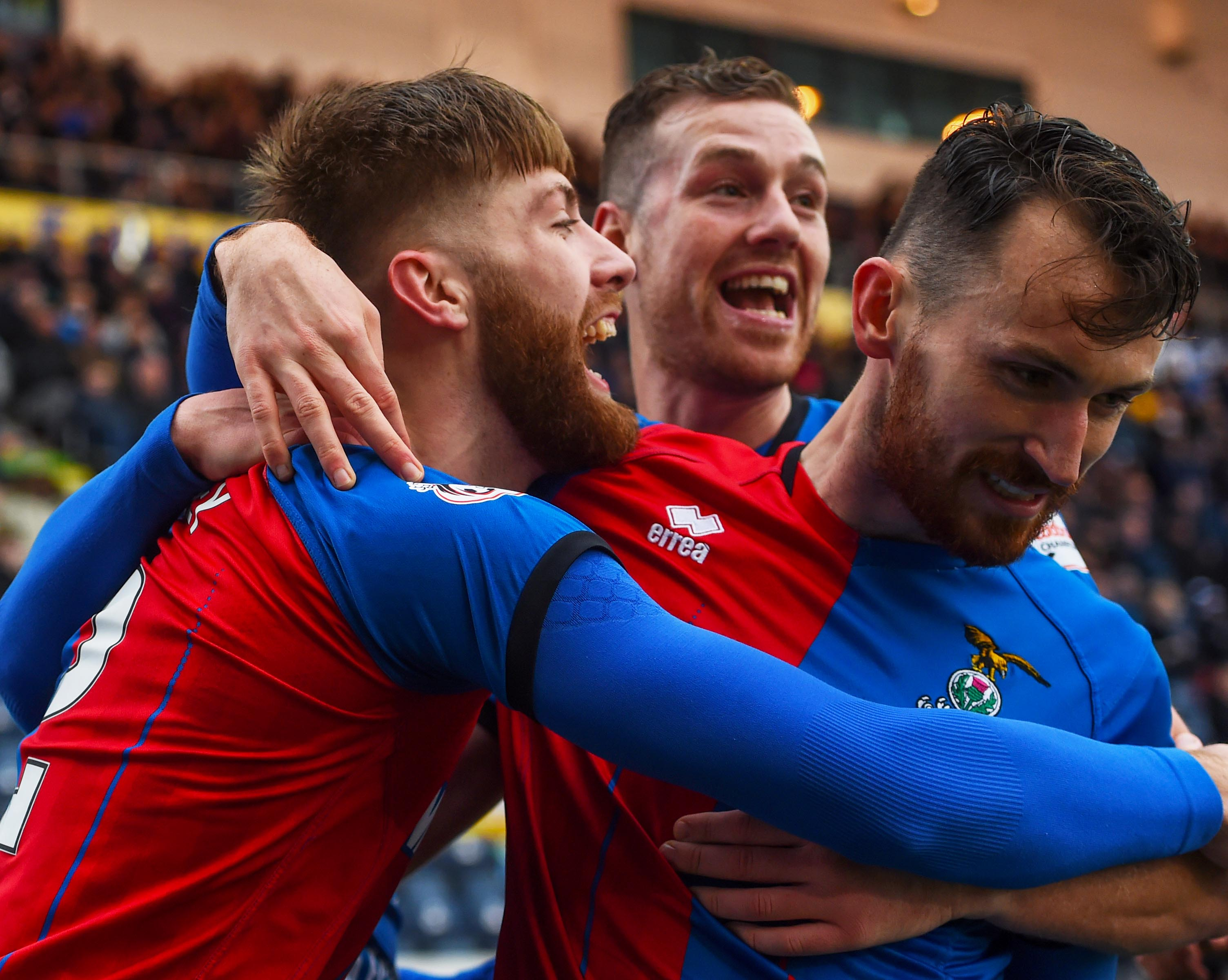 Shaun Rooney opened the scoring for Inverness.
