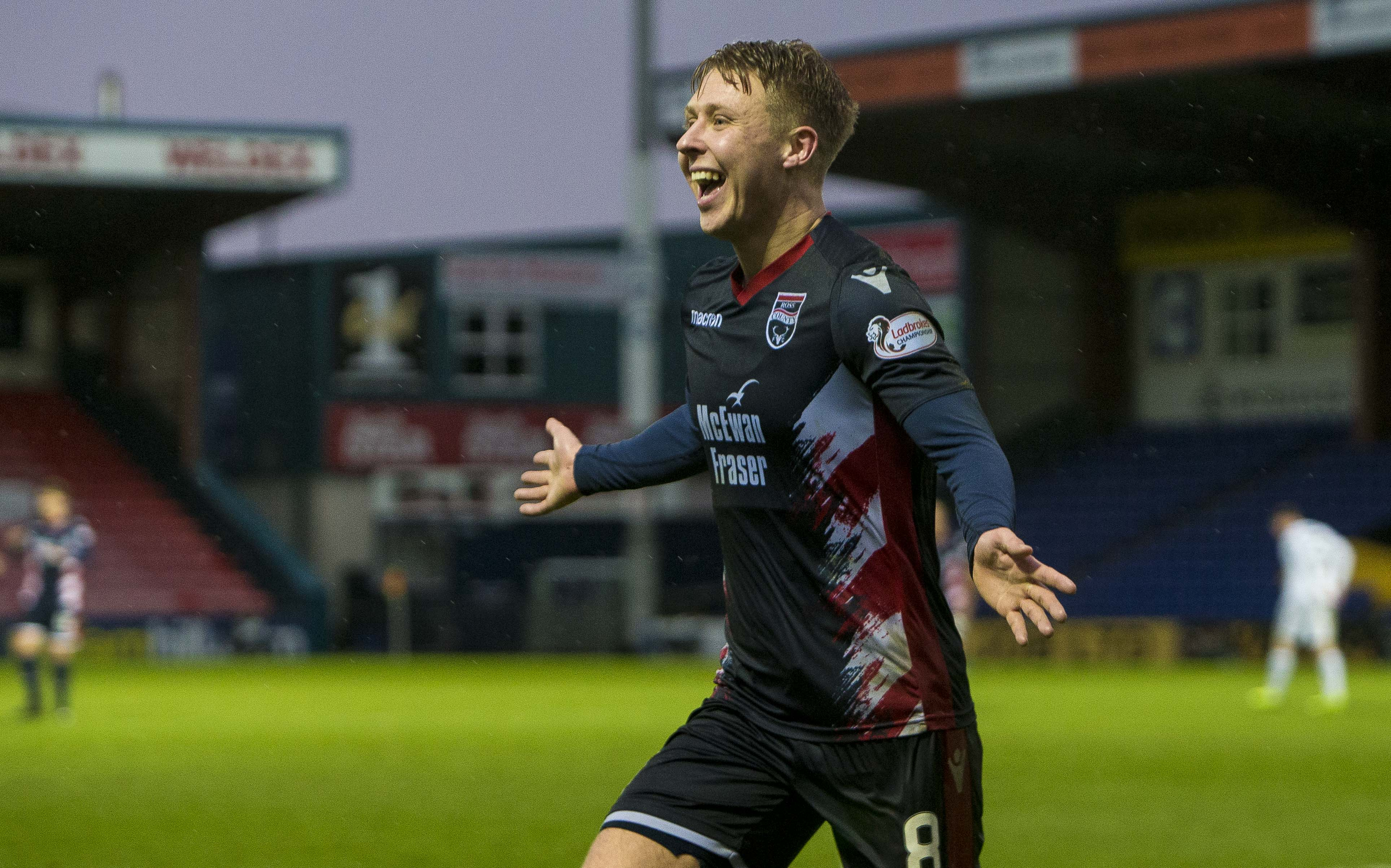 Ross County midfielder Jamie Lindsay.