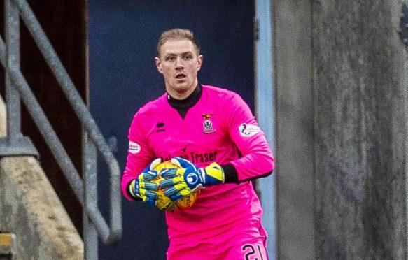 Caley Thistle goalkeeper Cammy Mackay.