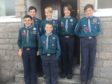 The team that took part in the camping competition.  Front row: Aidan Page, Callum Innes, back row: Callum Campbell, Zander Williams, Alex McMaster, William Ashdown
