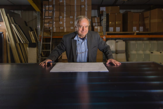 Managing Director of AES Solar George Goudsmit will voice his concerns over the tariff policy changes in March when he meets eneregy minister Claire Perry. Picture: Marc Hindley