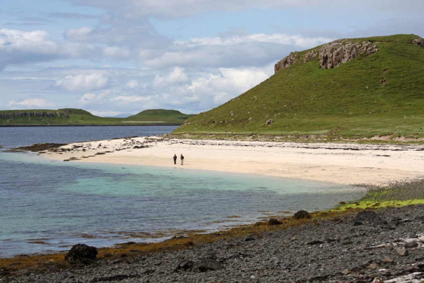 Claigan Coral Beach: Perfect for a family picnic, and perhaps even a swim if the weather is on your side