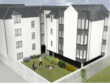 Artists impression of flats development on Maberly Street Aberdeen