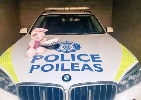 Piglet was found on the Aberdeen bypass.