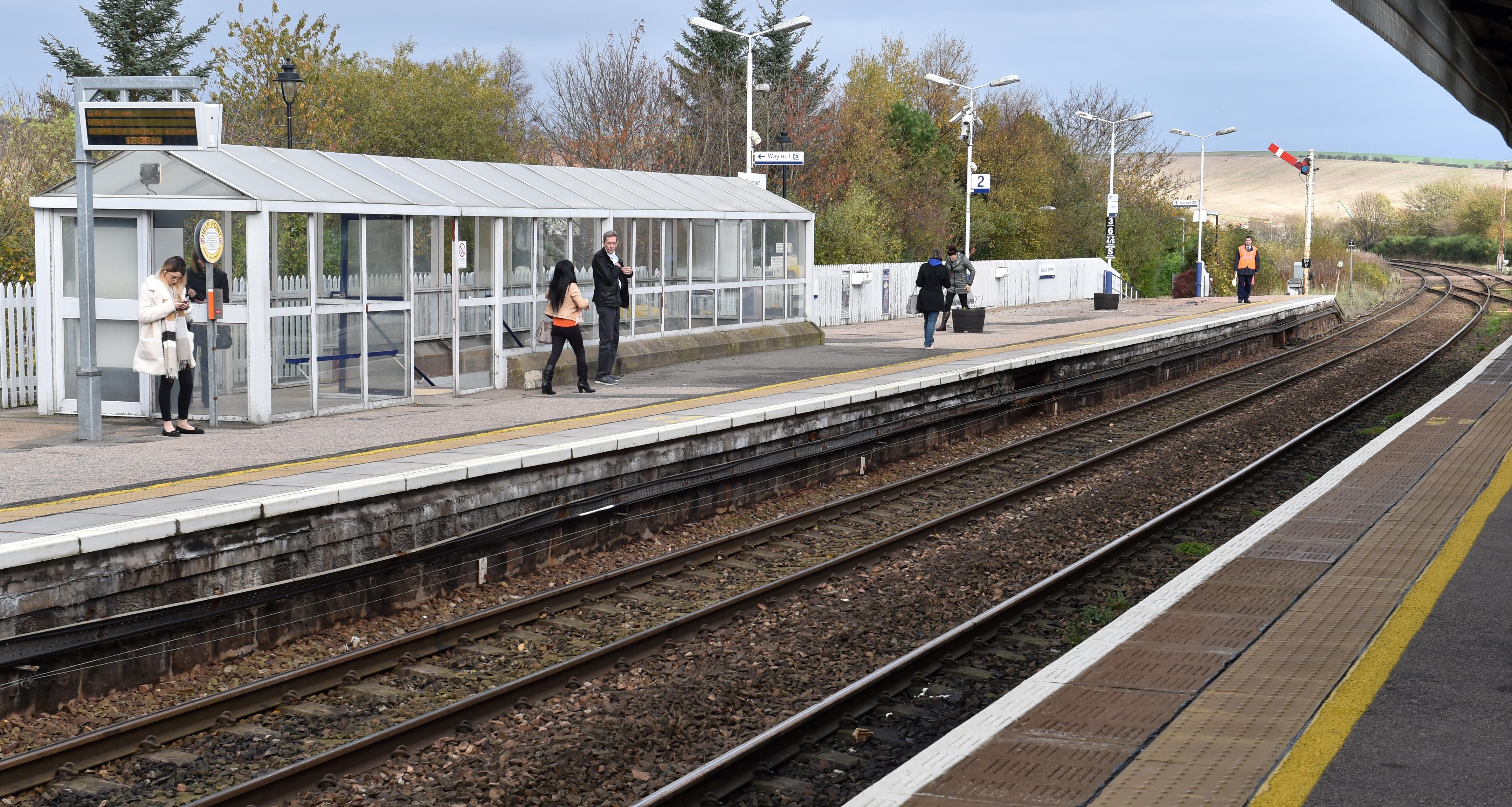 Stonehaven Rail Station