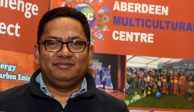 Ahashan Habib, centre manager.