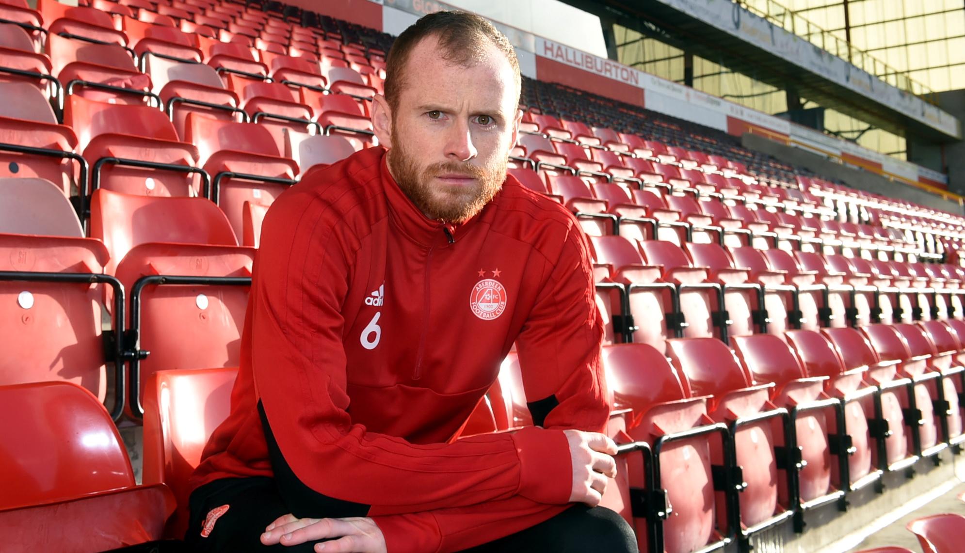 Aberdeen defender Mark Reynolds