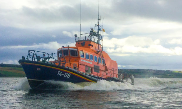 Kyle of Lochalsh Lifeboat was called to the scene