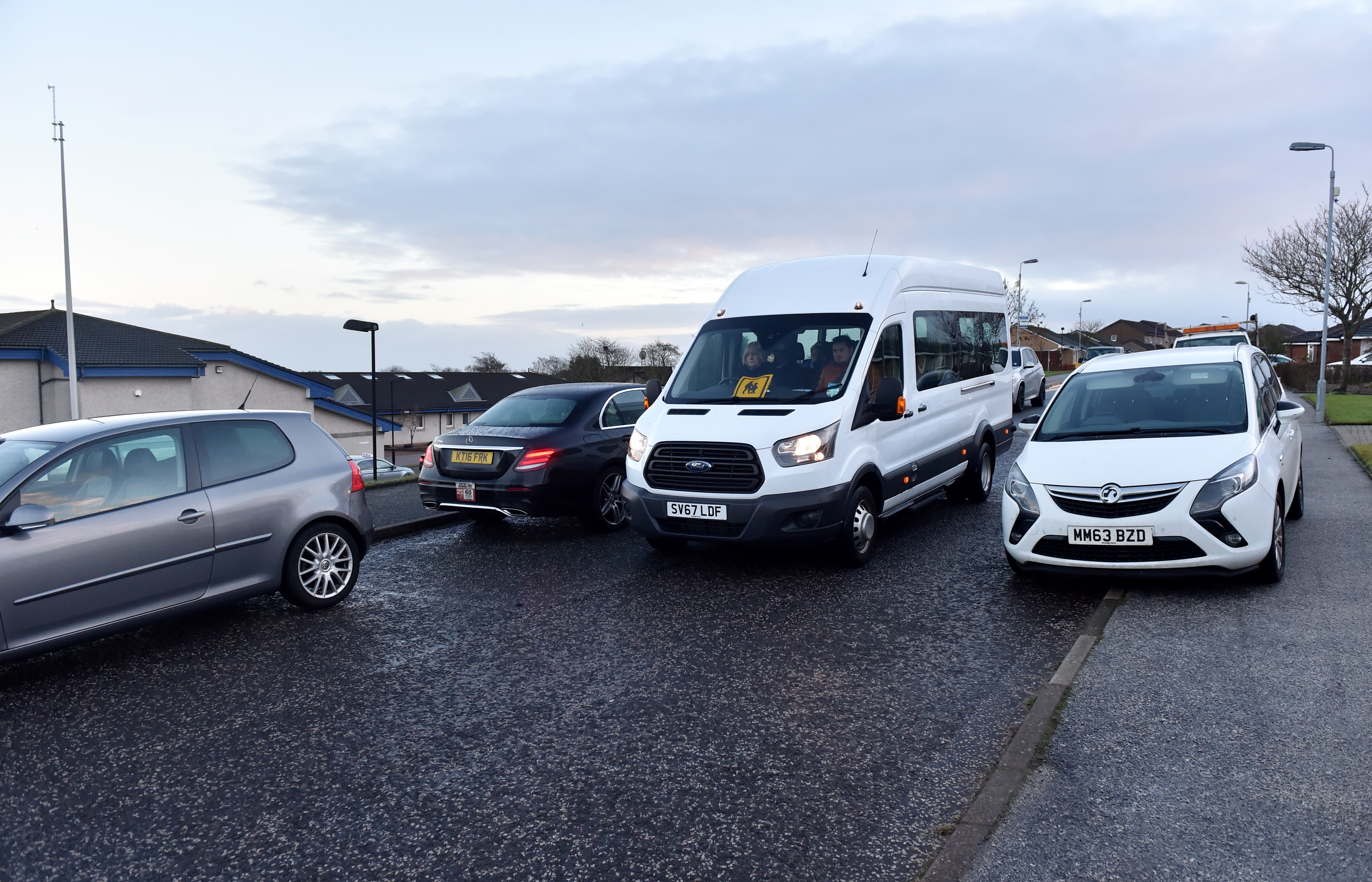 Residents have complained about parents parking irresponsibly outside Newtonhill Primary School