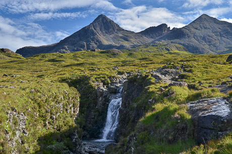 The Cuillin: Climbing to the summit is a must for experienced walkers, for it offers the best climbing route in the UK