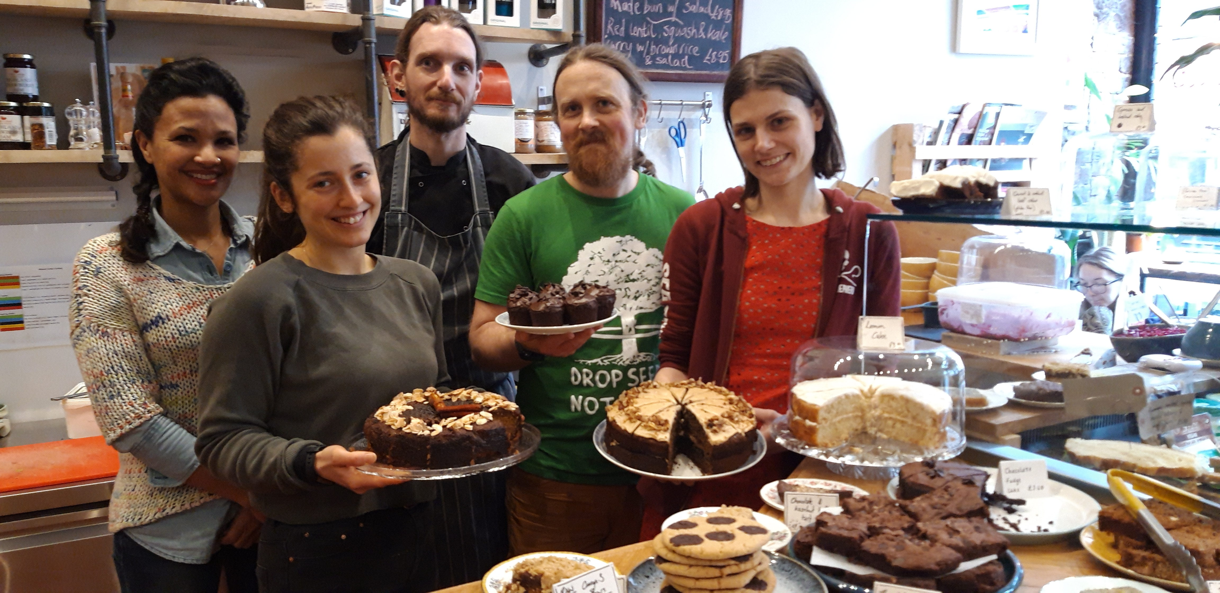 Staff at The Wildcat Cafe are planning to strike for climate challenge awareness