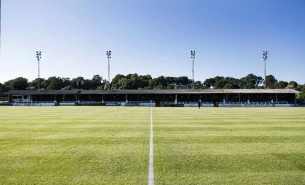 Elgin City's Borough Briggs ground.