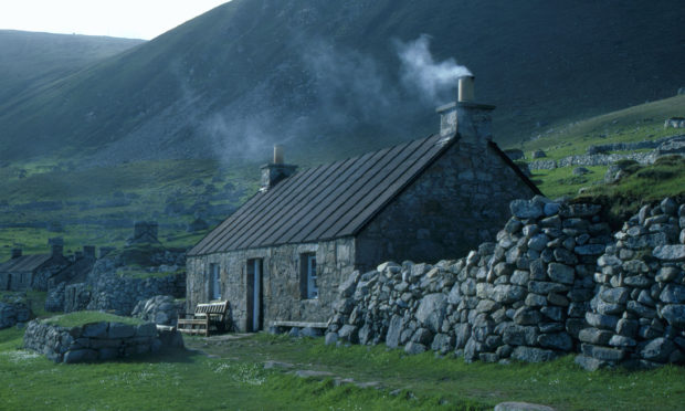 Cottage No. 1 on St Kilda.