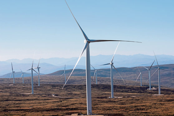 Dunmaglass wind farm