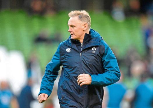 Joe Schmidt, Head Coach of Ireland.