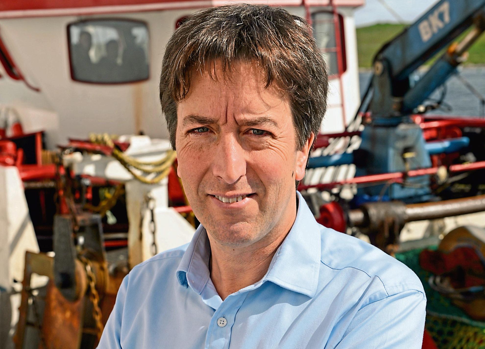 Shetland Fishermen's Association executive officer Simon Collins.