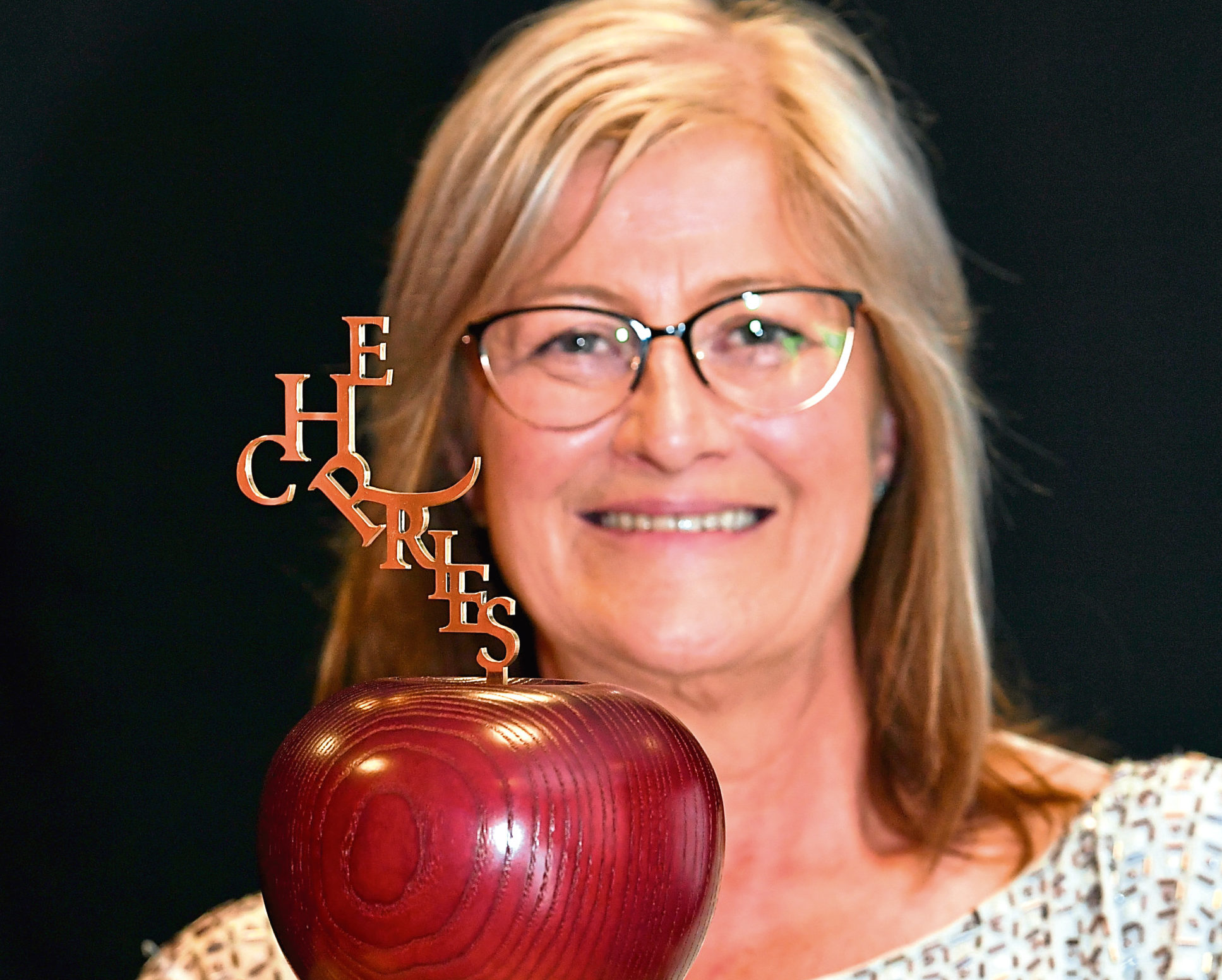 Last year's winner Karen Catto of Stewart Milne Group.