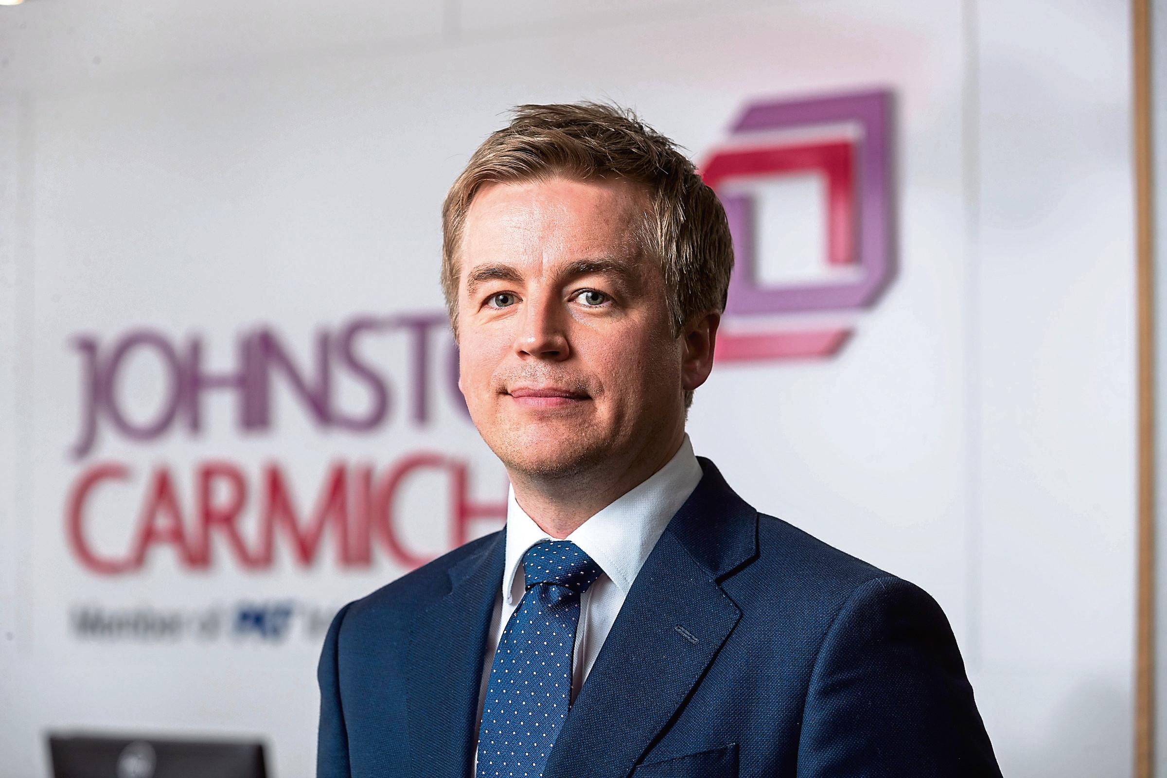 Johnston Carmichael tax expert Peter Courtney.