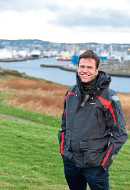 Pictured is Ivan Starostin, founder and chief executive of oil and gas technology company TenzorGeo at Torry Battery, Aberdeen. Picture by DARRELL BENNS     Pictured on 18/02/2019