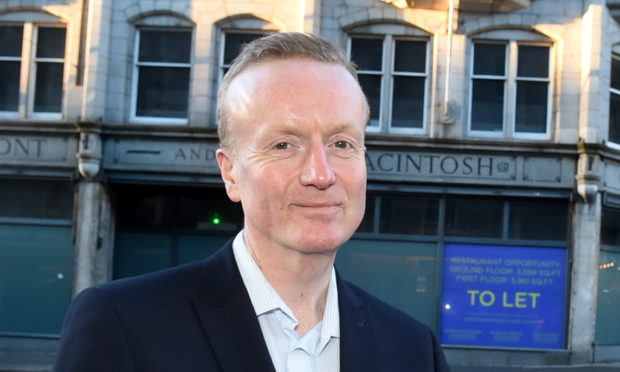 Adrian Watson, chief executive of Aberdeen Inspired.