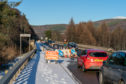 The bridge on the A941 at Craigellachie in Moray.