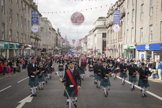 Last year's Celebrate Aberdeen parade
