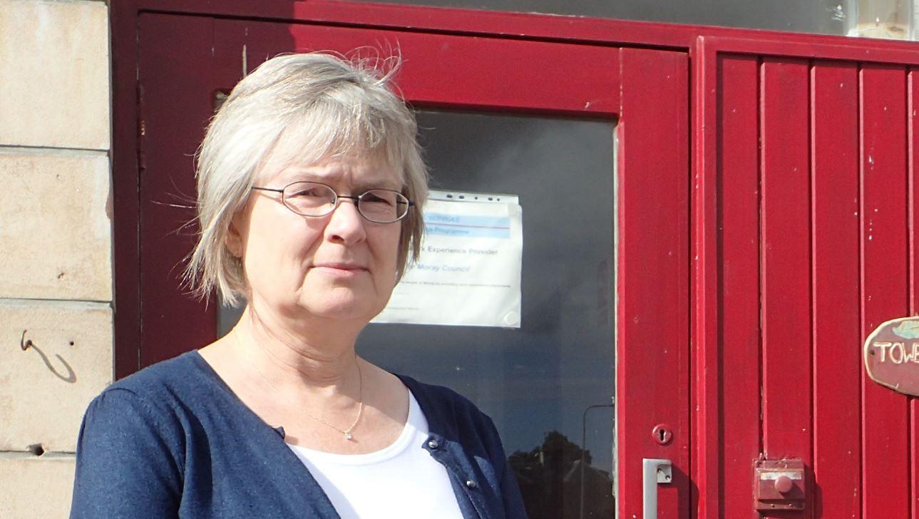 Forres councillor Claire Feaver.