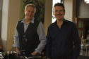 Dougie Vipond and Nick Nairn have made a  new TV series The Great Food Guys.