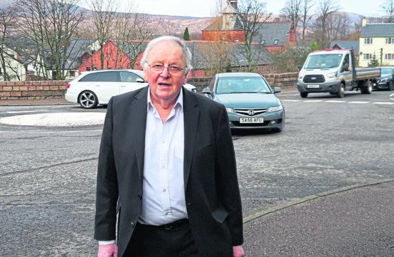 Community activist Neil Clark. Picture by Louise Glen.