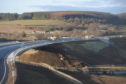 The newly open Don Bridge near Dyce.