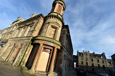 "Work on the Faithlie Centre in Fraserburgh is due to resume ""shortly"" according to the council report."