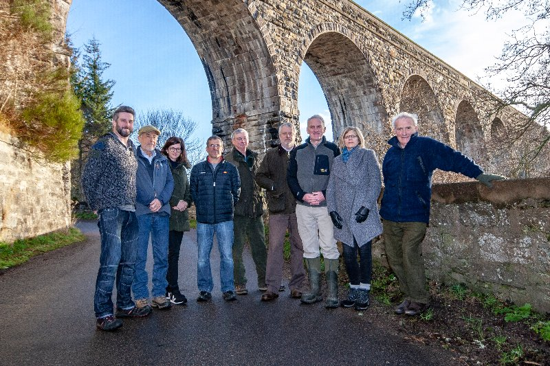 Directors of Finderne Development Trust. Pictured: Vice-chairman John Cudworth, Jim McKay, Jo Laing, Carlo Miele, Peter Taylor, Brian Higgs, chairman Chris Piper, Karen Astill, Roy Dennis.