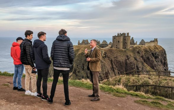 A new tour guide scheme has been launched.