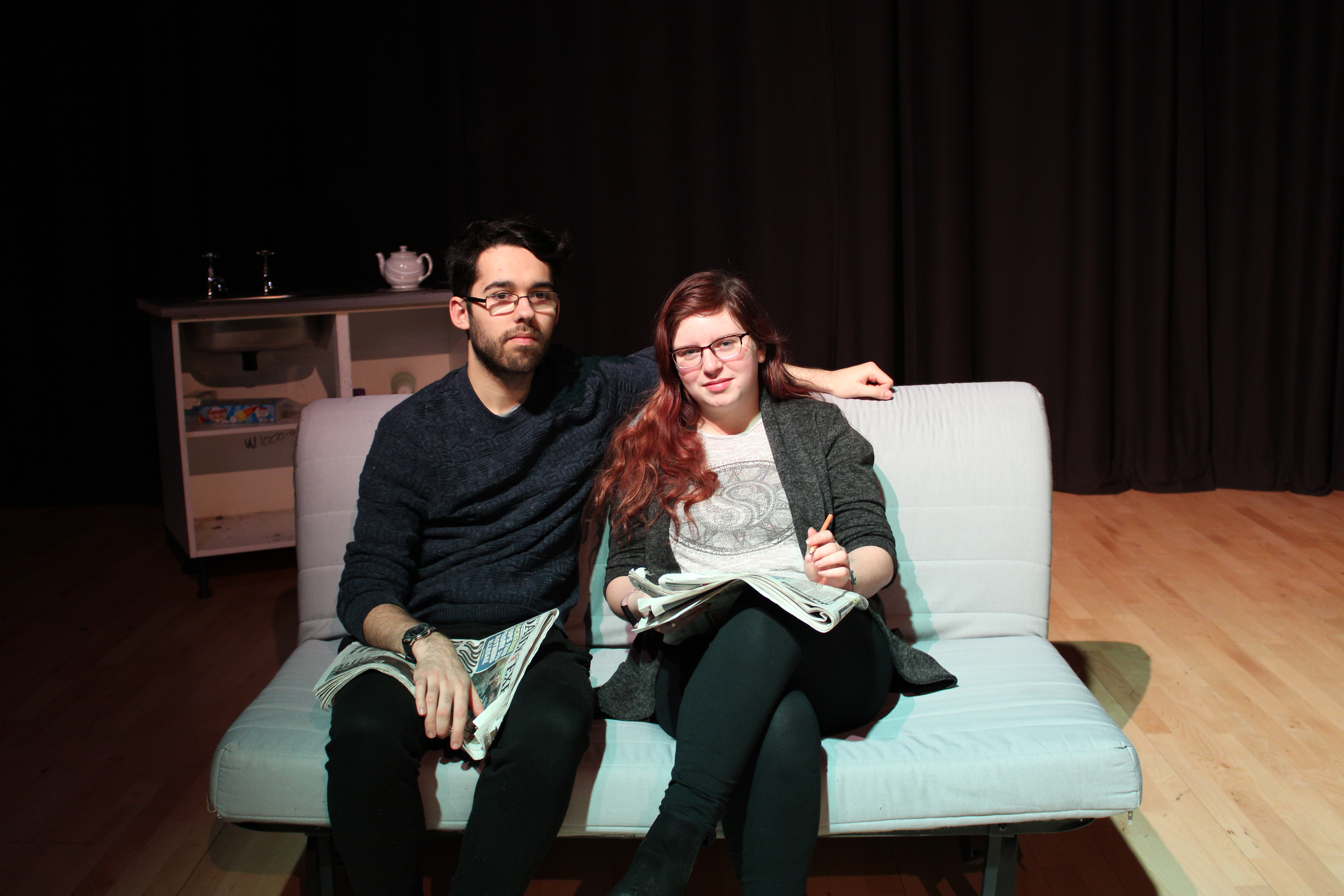 Inverness College students presented a heart wrenching play about cancer.