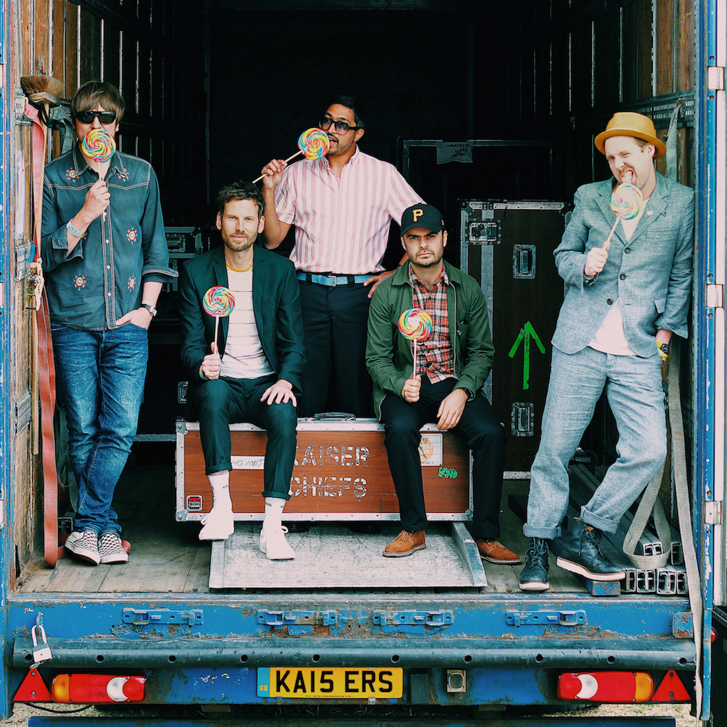 Kaiser Chiefs are playing in Inverness this year.