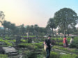 Scottish cemetery project in Kolkata, which has transformed the site.