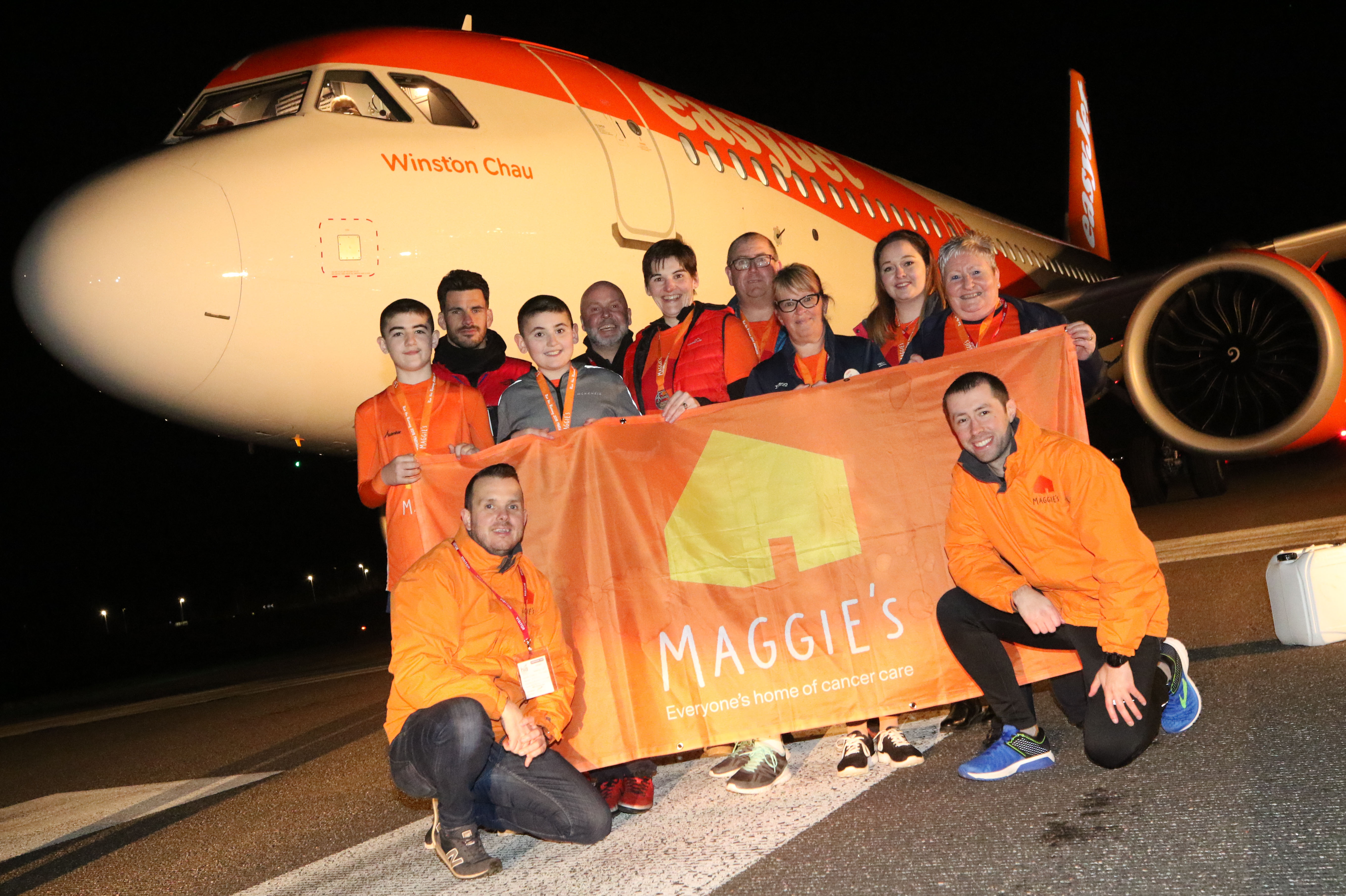 The Run the Runway charity event is set to take place for a third year in support of the Maggies Highland charity at Inverness Airport.