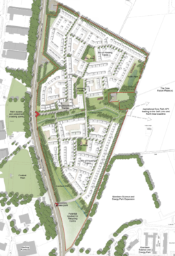 Plans for new homes at Bridge of Don.